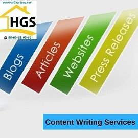 Content Writing by Har Ghar Sewa