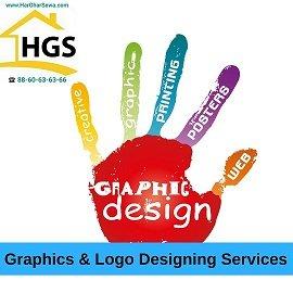 Graphics N Logo Designing by Har Ghar Sewa