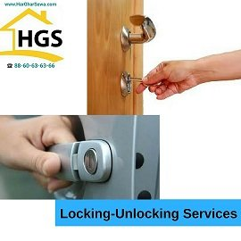 Locking Unlocking by Har Ghar Sewa