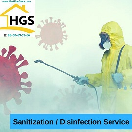 Sanitization / Disinfection Service by Har Ghar Sewa