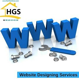 Website Designing by Har Ghar Sewa